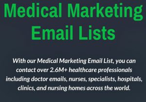 Medical Marketing Lists